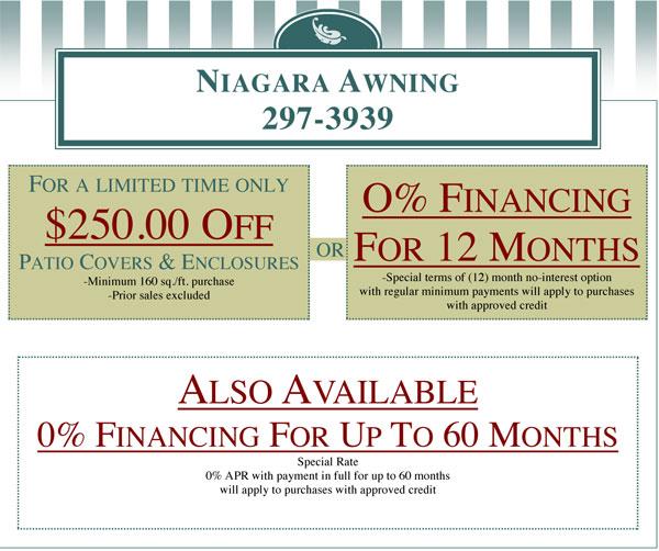 Financing Buffalo Ny Awnings